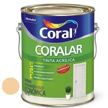 Tinta Acrílica Fosca Coralar Cromo Suave 3,6 Litros - Ref. 5202306 - CORAL