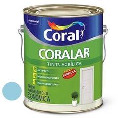 Tinta Acrílica Fosca Coralar Azul Arpoador 3,6 Litros - Ref. 5202288 - CORAL