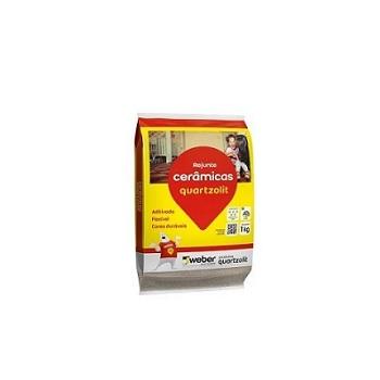 Rejunte Flexível Saco Com 1kg Cerâmica - Ref.0107.00017.0015FD - QUARTZOLIT