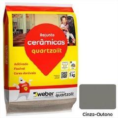 Rejunte Flexível Saco15kg Cinza Outono -Ref.0107.00019.0015FD - QUARTZOLIT