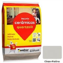 Rejunte Flexível Saco15kg Cinza Platina - Ref.0107.00020.0015FD - QUARTZOLIT