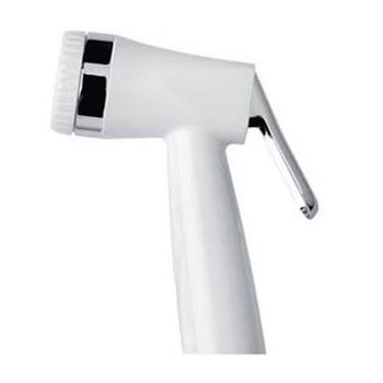 Pistola Plástica para Ducha Manual Branca e Cromada - Ref.07821 - FABRIMAR