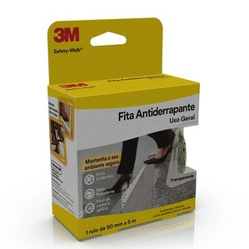 Fita Antiderrapante Safety-Walk 50mmx5m Transparente - Ref.H0001912460 - 3M