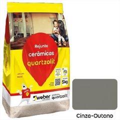 Rejunte Flexível Saco30kg Cinza Outono - Ref.0107.00019.0030FD - QUARTZOLIT