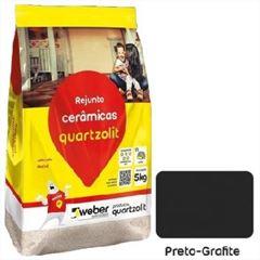 Rejunte Flexível Saco30kg Preto Grafite - Ref.0107.00042.0030FD - QUARTZOLIT