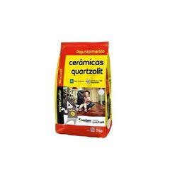 Rejunte Flexível Saco com 5kg Caramelo - Ref.0107.00015.0030FD - QUARTZOLIT
