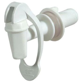 Torneira de Filtro Plástico Alavanca Inferior 1119 Branca - Ref.363 - HERC