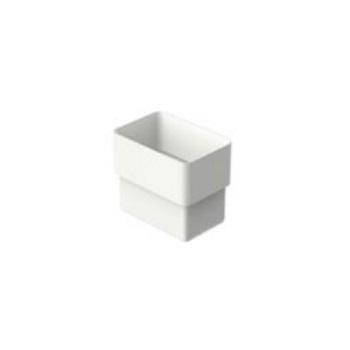 Acoplamento Retangular PVC Aquapluv Style Branco - Ref. 32198929 - TIGRE
