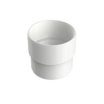 Acoplamento Circular PVC 88mm Aquapluv Style Branco - Ref. 32198899 - TIGRE