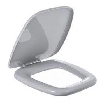 Assento Almofadado Versato Fit Cinza Prata - Ref. TVT/K*CZ-77 - ASTRA