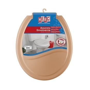 Assento Plástico Universal Envolvente TPI Caramelo - Ref. 389 - HERC