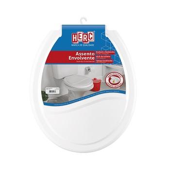 Assento Plástico Universal Envolvente TPI Branco - Ref. 385 - HERC