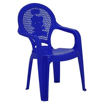 Poltrona Infantil Plástica Catty Estampada Azul - Ref.92264/070 - TRAMONTINA