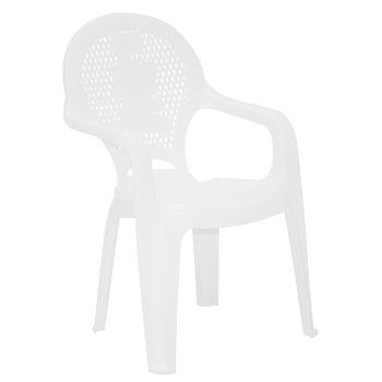 Poltrona Infantil Plástica Catty Estampada Branca - Ref.92264/010 - TRAMONTINA