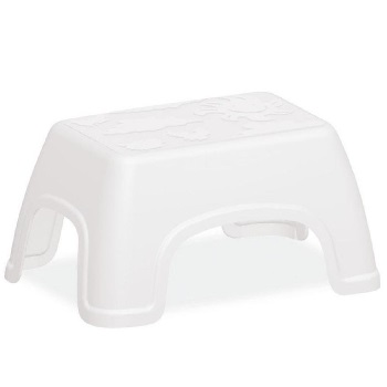 Banco Infantil Plástico Catty Branca - Ref.92412/010 - TRAMONTINA