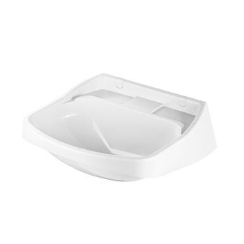 Lavatório Plástico 42x36cm Branco - Ref. 2500 - HERC