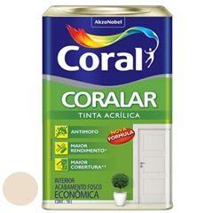 Tinta Acrílica Fosca Coralar Areia 18 Litros - Ref. 5202335 - CORAL
