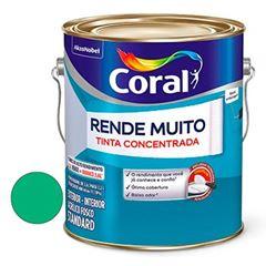 Tinta Acrílica Fosca Rende Muito Verde Angra 3,6 Litros - Ref. 5202197 - CORAL