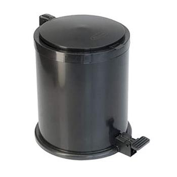 Lixeira Plástica 6,5 Litros com Pedal Cores - Ref.183 - PLASVALE
