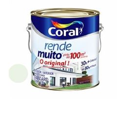 Tinta Acrílica Fosca Rende Muito Verde Primavera 3,6 Litros - Ref. 5202203 - CORAL