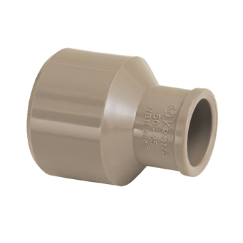 Bucha Redução PVC 40x25MM Soldável Longa - Ref.0369 - KRONA