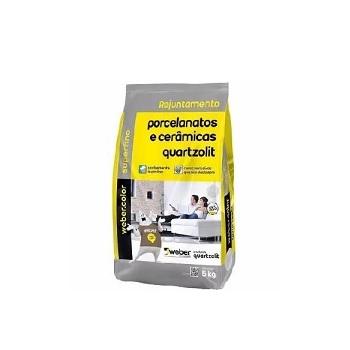 Rejunte Para Porcelanato Saco Com 5kg Palha - Ref.0110.00045.0030FD - QUARTZOLIT