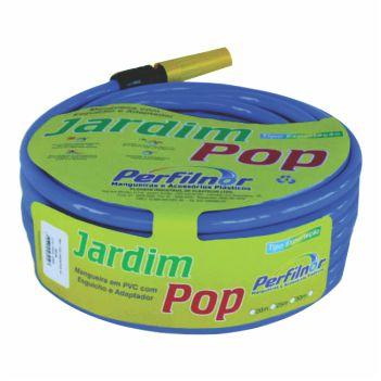 Mangueira PVC 1/2 15m Jardim Pop Azul - Ref. 3915 - PERFILNOR