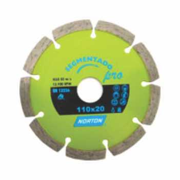 Disco Diamantado Segmentado Pro - Ref.70184624361 - NORTON