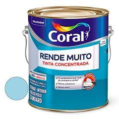 Tinta Acrílica Fosca Rende Muito Azul Sereno 3,6 Litros - Ref. 5202232 - CORAL
