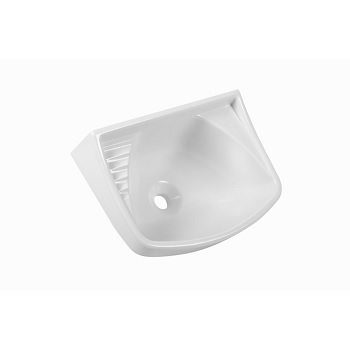 Lavatório Suspenso de Plástico 36x26cm Branco - Ref. LVO/SC*BR1 - ASTRA