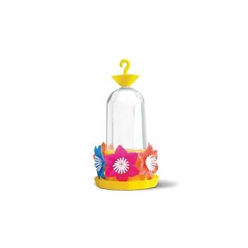 Bebedouro de Plástico Beija-Flor 6 Flores Amarelo Nutriplan - Ref. 6700201-01 - NUTRIPLAST