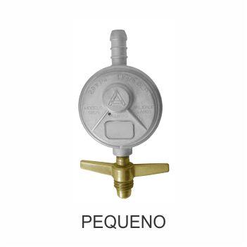 Regulador Gás Zamac Borboleta Pequeno 76505 Botijão - Ref. 061166 - ALIANÇA