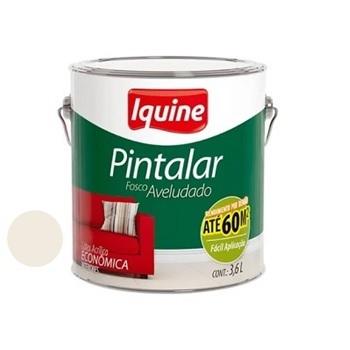 Tinta Vinil Acrílica Pintalar Branco Gelo 3,6 Litros - Ref.79300301- IQUINE