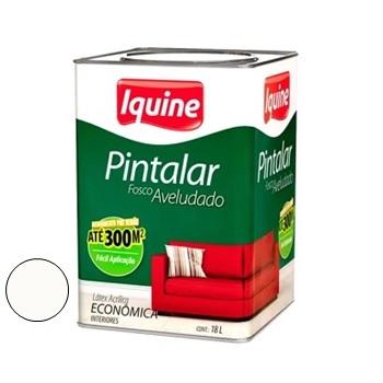 Tinta Vinil Acrílica Pintalar Branco Neve 18 Litros - Ref.79300205 - IQUINE