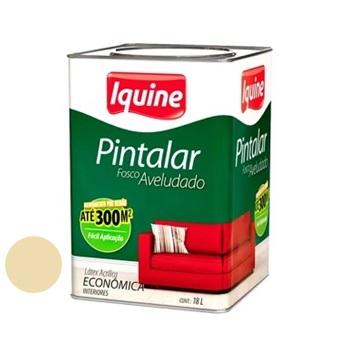 Tinta Vinil Acrílica Pintalar Marfim 18 Litros - Ref.79302005 - IQUINE