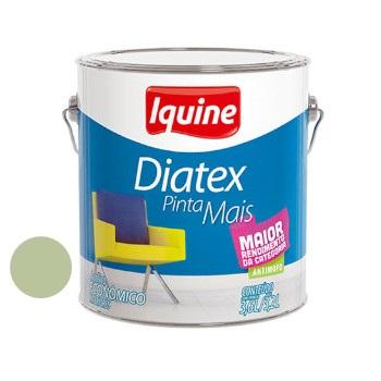 Tinta Vinil Acrílica Diatex Verde Primavera 3,6 Litros - Ref.50303901 - IQUINE