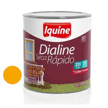 Esmalte Brilhante Dialine Secagem Rápida Premium Amarelo 900ml - Ref.62206504 - IQUINE