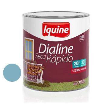 Esmalte Brilhante Dialine Secagem Rápida Premium Azul Celeste 900ml - Ref.62204704 - IQUINE