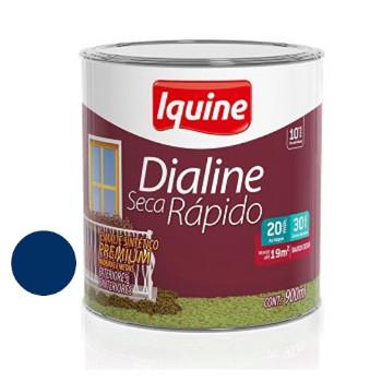 Esmalte Brilhante Dialine Secagem Rápida Premium Azul Del Rey 900ml - Ref.62204804- IQUINE