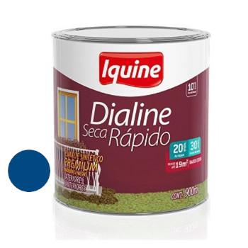 Esmalte Brilhante Dialine Secagem Rápida Premium Azul França 900ml - Ref.62204904 - IQUINE