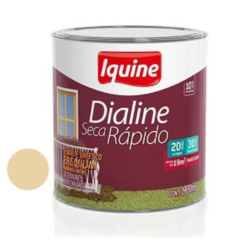 Esmalte Brilhante Dialine Secagem Rápida Premium Marfim 900ml - Ref.62202004 - IQUINE