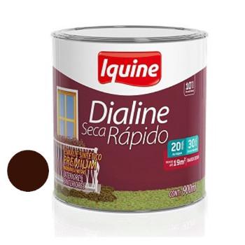 Esmalte Brilhante Dialine Secagem Rápida Premium Marrom 900ml - Ref.62207804 - IQUINE