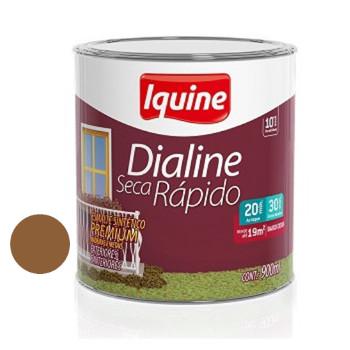 Esmalte Brilhante Dialine Secagem Rápida Premium Marrom Conhaque 900ml - Ref.62202704 - IQUINE