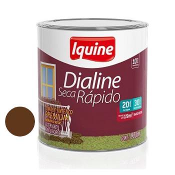 Esmalte Brilhante Dialine Secagem Rápida Premium Tabaco 900ml - Ref.62202904 - IQUINE