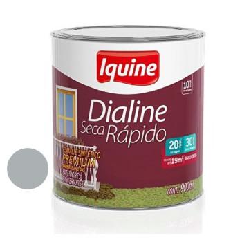 Esmalte Brilhante Dialine Secagem Rápida Premium Platina 900ml - Ref.62200604 - IQUINE