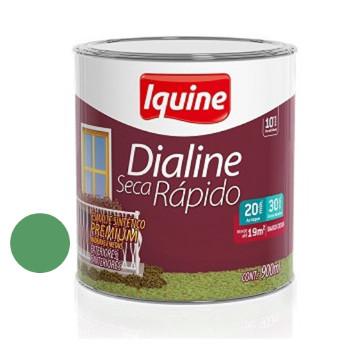 Esmalte Brilhante Dialine Secagem Rápida Premium Verde Nilo 900ml - Ref.62203604 - IQUINE
