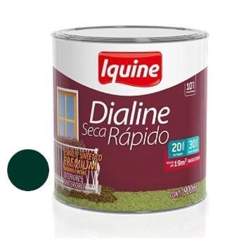 Esmalte Brilhante Dialine Secagem Rápida Premium Verde Colonial 900ml - Ref.62203204 - IQUINE