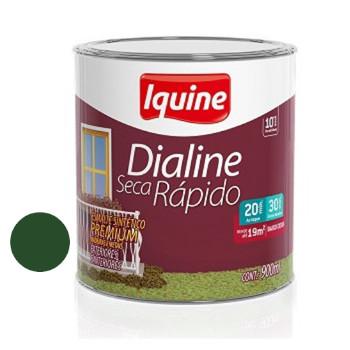 Esmalte Brilhante Dialine Secagem Rápida Premium Verde Folha 900ml - Ref.62203404 - IQUINE