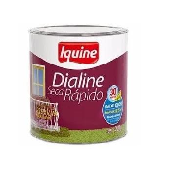 Esmalte Brilhante Dialine Secagem Rápida Premium Verde Jade 900ml - Ref.62203104 - IQUINE