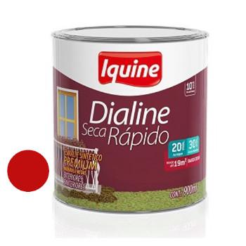 Esmalte Brilhante Dialine Secagem Rápida Premium Vermelho 900ml - Ref.62204504 - IQUINE